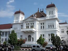 grand dutch colonial architecture of bank of indonesia building