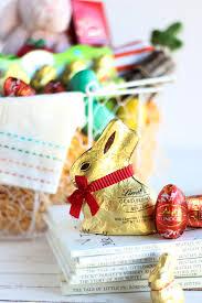 lindt easter bunny enchanting themed easter basket ideas lindt chocolate