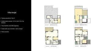 moroccan riad floor plan 3 bedroom villa for sale in marrakech marrakech tensift el haouz