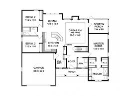 floor plans for ranch homes eplans ranch house plan perfect ranch for empty nesters 1824