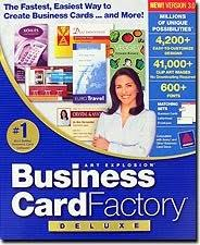 Business Card Factory Deluxe 4 0 Free Download Software Business