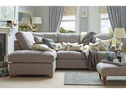 Klaussner Fletcher Sectional Angle Dressed Shown In Linen Cotton Dove Furniture Pinterest