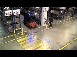 blue warning lights on forklifts blue forklift safety light youtube