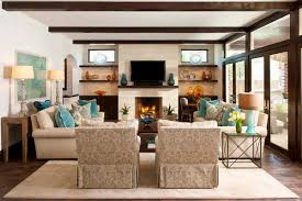 Stunning Decoration Living Room Arrangements With Fireplace - Living room designs with fireplace