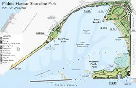 Oakland California Map Golden Gate Audubon Societymiddle Harbor Shoreline Birding