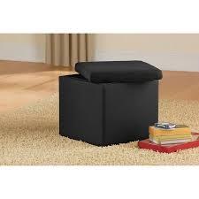 walmart storage ottoman black friday mainstays faux suede ultra storage ottoman multiple colors