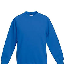 fruit of the loom childrens boys or girls raglan sweatshirt jumper