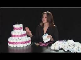 yt baby showers diaper cake u0026 nappy cake tutorial youtube