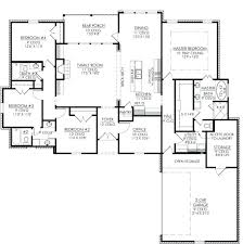 house plans 4 bedroom best four bedroom house plans floor plans for a 4 bedroom house