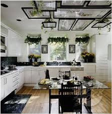 Hanging Shelves From Ceiling by Someday I Will Do This Graceful Hanging Plants In The Kitchen