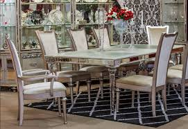 Aico Furniture Outlet 2 519 00 Bel Air Park 4 Leg Extendable Dining Table By Michael