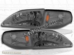 ebay mustang headlights 94 98 ford mustang headlights corner lights smoke 97 96 ebay