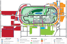 Map Indianapolis Red Bull Air Race Indianapolis Parking U0026 Camping