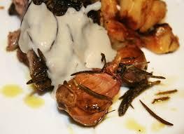 cuisiner l agneau la cuisine de bernard epaule d agneau à la crème d ail