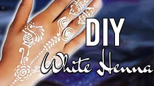 henna tattoo recipe paste easy diy white henna only 2 ingredients youtube