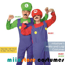Halloween Costumes Rent Rent Mario Friends Costumes Package 10 Pax Miiostore Sg