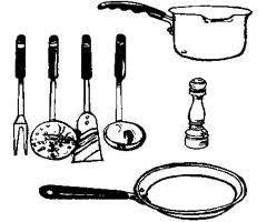 dessin ustensile de cuisine dessin d ustensiles de cuisine 7