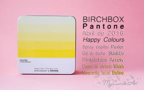 happy colours la birchbox de abril de 2016 en colaboración con