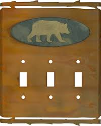 bear light switch covers rustic bear light switch plates outlet covers wallplates rustic