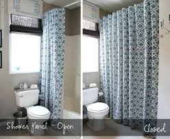 White Lace Shower Curtain by Shower Curtain Length Interior Design