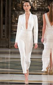 white plunge jumpsuit splurge rochelle humes s pride of britain awards 2017 1 262
