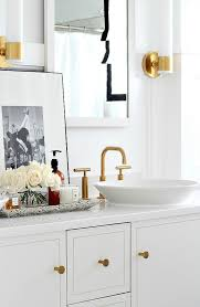 Polished Gold Bathroom Faucets by Gold Bathroom Fixtures Kohler K144024abgd Purist Lavatory Faucet