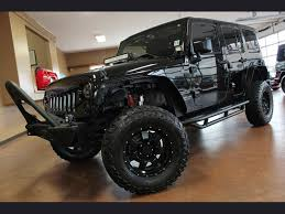 custom lifted jeep wranglers in 2014 jeep wrangler unlimited sport custom lift for sale in north