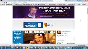 Create Your Own Meme Online - creating a meme using meme generator youtube