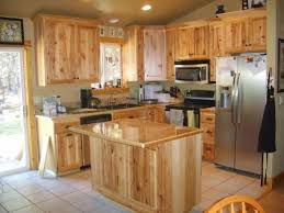what paint color goes best with hickory cabinets hickory kitchen cabinets and flooring home design