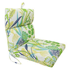 Chair Cushions Patio by Jordan Manufacturing 44 X 22 In Outdoor Chair Cushion Hayneedle
