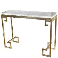 Stone Console Table Zuo Atlas Rectangular Stone Gold Console Table