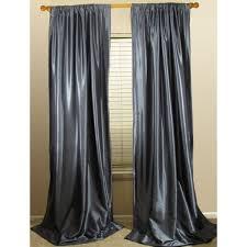 White Taffeta Curtains Premium Faux Silk Drapery Panels Custom Faux Silk Curtains