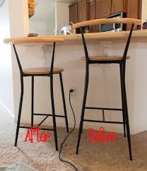 Diy Metal Desk by Metal Bar Stool Legs The Diy Girl