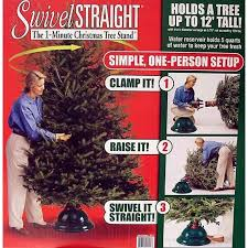 swivel 1 minute tree stand for trees up to 12