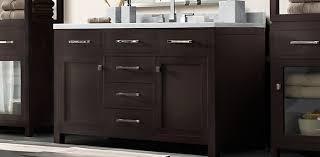 Espresso Vanity Bathroom Hutton Vanity Bath Collection Espresso Satin Nickel Rh