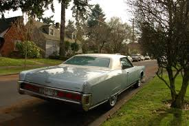 Old Lincoln Town Car Old Parked Cars 1973 Lincoln Continental Town Coupé