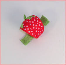 toddler hair bows an adorable strawberry clip or hair bow for your toddler baby or