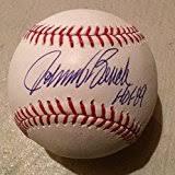 Johnny Bench Autograph Reds Autograph Cincinnati Reds Autograph Reds Autographs