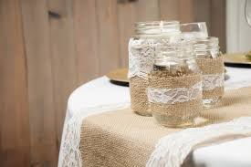 burlap decorations for wedding burlap and lace bohemian wedding tablescape