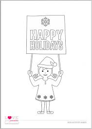 free christmas kids u0027 activity sheets and coloring sheets catch