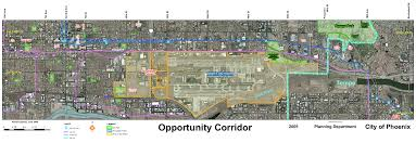 Phoenix Zoning Map by Empty Lots Downtown Voices Coalition