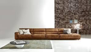 Modern Leather Sofa Furniture Mid Century Modern Leather Sofa 88 On Table