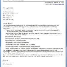 Media Covering Letter Dandy Social Media Cover Letter U2013 Letter Format Writing