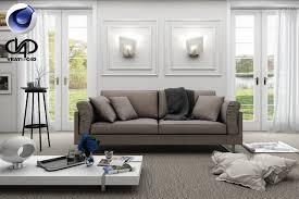 3d model living room 9 c4d vrayforc4d cgtrader