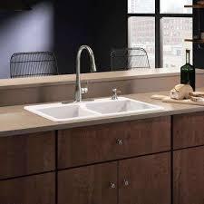 kohler staccato drop in sink all in one kohler drop in kitchen sinks kitchen sinks the