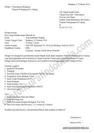 contoh surat pernyataan untuk melamar kerja surat lamaran kerja contoh surat indonesia