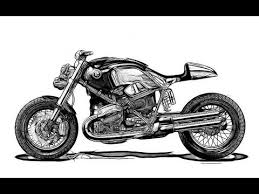 bb ki sketches best motorcycle sketch ever time lapse sketch