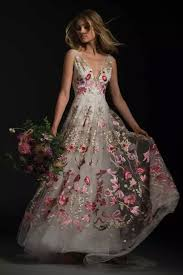 coloured wedding dresses 10 colourful wedding dresses