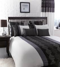 Black Bedroom Ideas Pinterest by Bedroom Dazzling Black White Bed Modern Design Amazing Grey