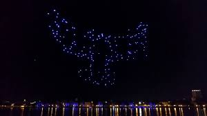 disney drone light show disney springs drone show starbright holidays youtube